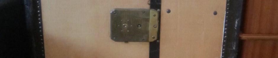 Framsida med lås