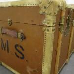 Amerikakoffert från sent 1800-tal. Såld till Mange Schmidt.